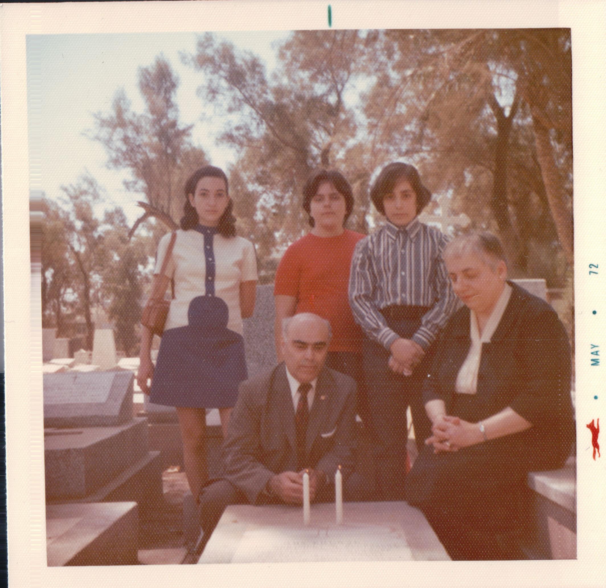 72 RRJL - Family at Grandma's grave